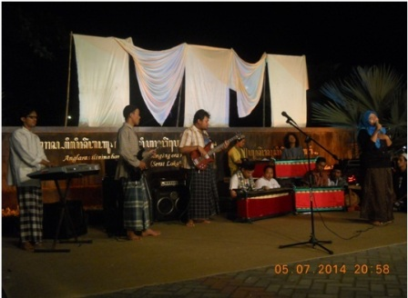 Pentas Musik puisi Tanwin oleh Sanggar Nuun, Sabtu (5/07).
